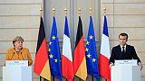 Merkel prend ses distances avec Macron sur l'Europe