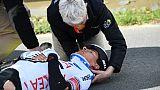 Paris-Nice: double fracture cervicale pour Barguil