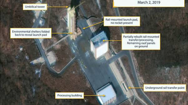 U.S. says North Korea diplomacy 'very much alive,' but it's watching rocket site