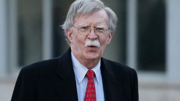 U.S.'s Bolton says Pakistan committed to easing tensions with India