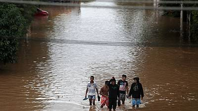 Eleven dead as Brazil's largest city flooded