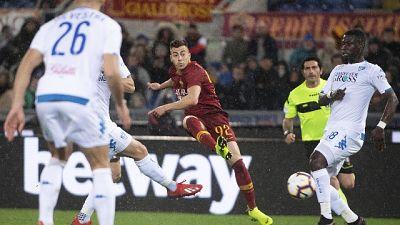 Serie A: Roma-Empoli 2-1