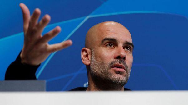 City still Champions League teenagers, says Guardiola