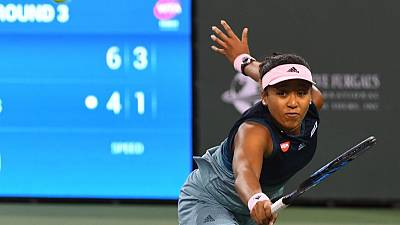 Osaka powers into fourth round at Indian Wells