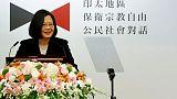 Taiwan president to visit Palau, Nauru, Marshall Islands next week