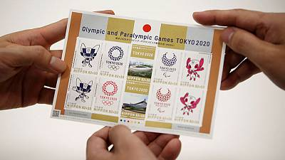 Commemorative Tokyo 2020 stamps go on sale