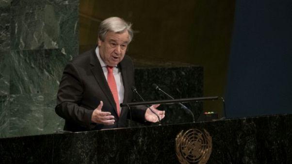 Le secrétaire général de l'ONU Antonio Guterres, le 11 mars 2019