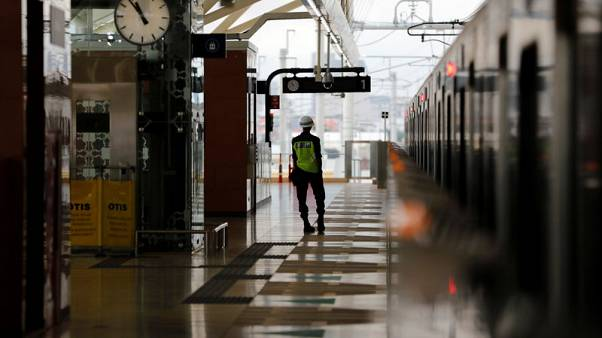 Indonesians get first chance to ride subway in traffic-clogged capital