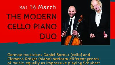 """Virtuosity times two: """"The Modern Cello-Piano Duo"""" in Windhoek"""