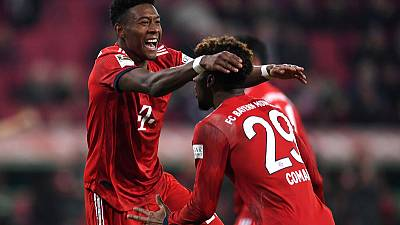 Bayern's Alaba, Coman fit against Liverpool - Kovac