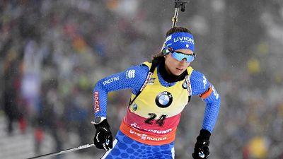 Biathlon: Vittozzi è argento 15 km