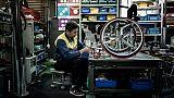 Tokyo-2020: course contre la montre pour sortir le fauteuil roulant dernier cri