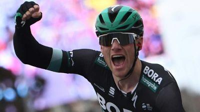 L'Irlandais Sam Bennett remporte la 3e étape de Paris-Nice le 12 mai 2019