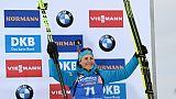 Mondiaux de biathlon: Braisaz s'offre le bronze de l'Individuel, Oeberg confirme son rang