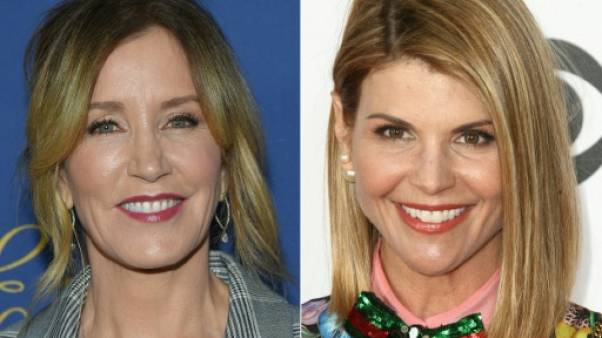 Les actrices Felicity Huffman et Lori Loughlin