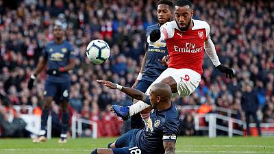 Arsenal's Lacazette free to face Rennes as UEFA cuts ban