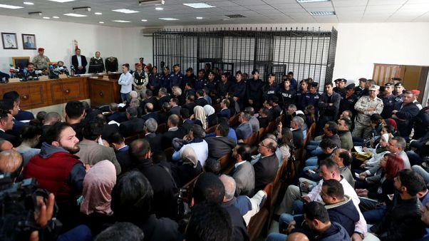 Jordan businessmen, officials go on trial in graft case