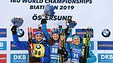 Mondiaux de biathlon: Oeberg comme à la maison