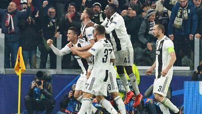 3-0 all'Atletico e Juve ai quarti