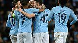 Ligue des champions: Manchester City se balade contre Schalke 7-0 et valide sa place en quarts