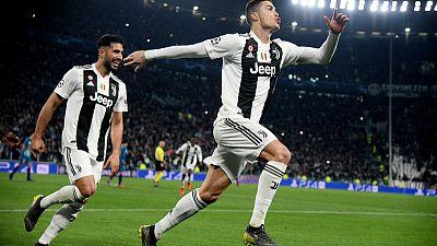 Ronaldo hat-trick leads Juve into quarter-finals