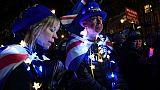 """Le Brexit est mort!"""": joie devant le Parlement après le rejet de l'accord"""