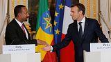 """إثيوبيا وفرنسا توقعان اتفاقا عسكريا وتفتحان """"صفحة جديدة"""" في العلاقات"""