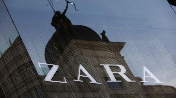 Zara owner Inditex reports 2 percent rise in full-year profit
