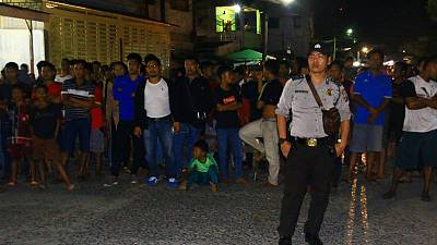 Wife, son of suspected Indonesian militant blow themselves up - police