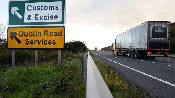 UK says would cut tariffs, no checks on Irish border in no-deal Brexit