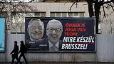 Hungary publishes more anti-EU ads despite pledging halt