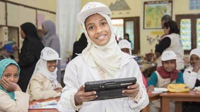 World Food Programme (WFP) and Ministry of Education transform community schools in Egypt