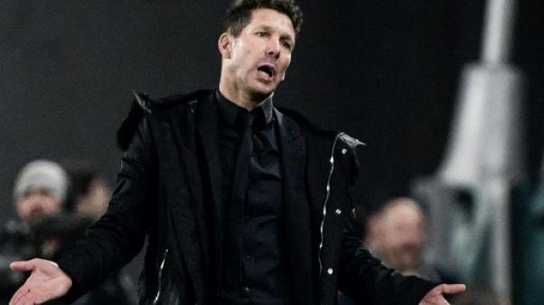 Ligue des champions: Atlético Madrid, tout ça pour ça