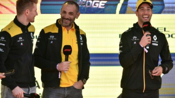 """F1: dans ses usines, Renault à la poursuite des """"top teams"""""""