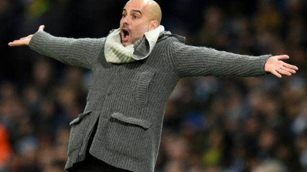 Ligue des champions: Manchester City favori, l'étiquette dont Guardiola ne veut pas
