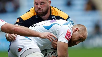 England prop Brookes commits to Wasps with contract extension