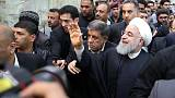 Iraq's top Shi'ite cleric tells Rouhani ties must respect sovereignty