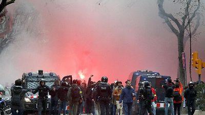 Incidenti prima di Barcellona-Lione