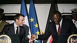 """Macron/Brexit: l'accord de retrait n'est pas """"négociable"""""""