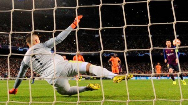 C1: Lyon est mené 2 à 0 à Barcelone à la pause