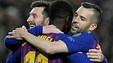 C1: le Barça et quatre clubs anglais au rendez-vous des quarts