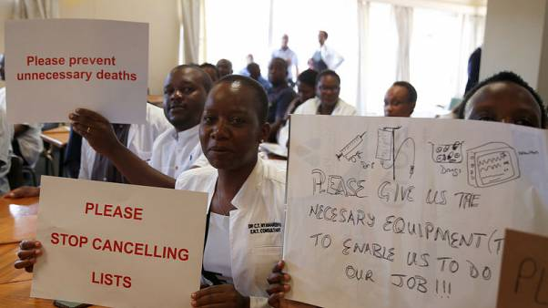 Zimbabwe doctors say patients dying due to drug, equipment shortages