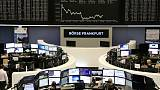 European shares rise on delayed Brexit vote, dollar gains; Wall St flat