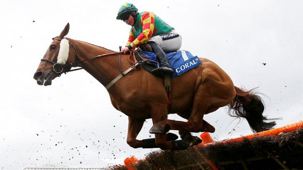 Horseracing - Frost riding the risk as she gears up to conquer Cheltenham