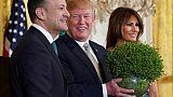 La Maison Blanche verdit chaque année pour la Saint-Patrick