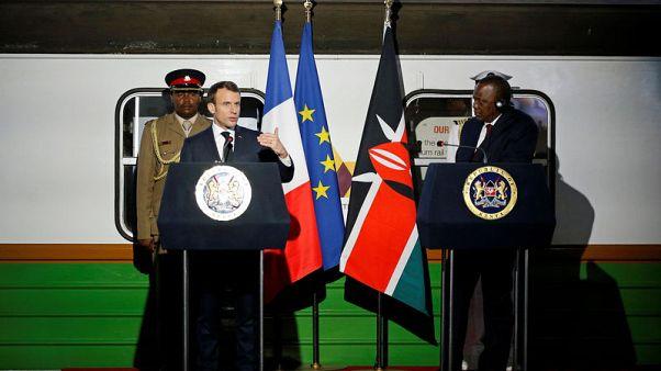 In Kenya push, France seals business deals worth over 2 billion euros