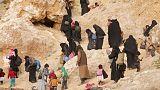 استسلام المئات في آخر جيب للدولة الإسلامية في شرق سوريا