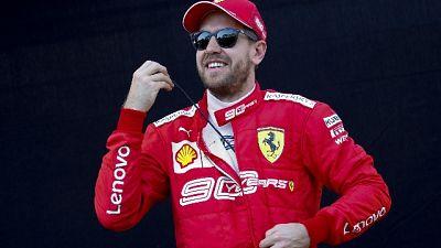 """F1, Vettel """"spero di essere preda"""""""