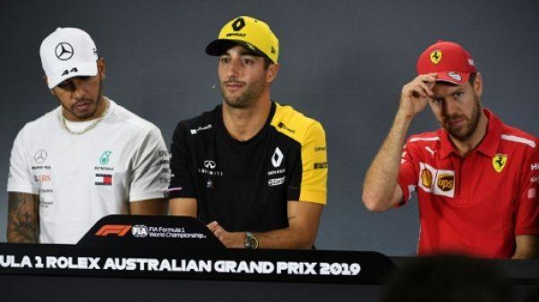 """F1: le point du meilleur tour en course """"intéressant"""" mais """"pas décisif"""", selon les pilotes"""