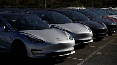China customs lifts suspension on Tesla Model 3 imports - sources